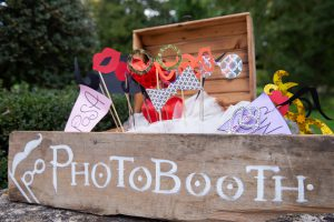 Photo booth to use during the wedding